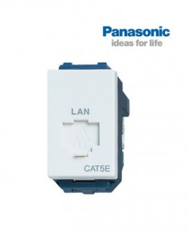 Ổ cắm data modular CAT5 panasonic WEG24886SW