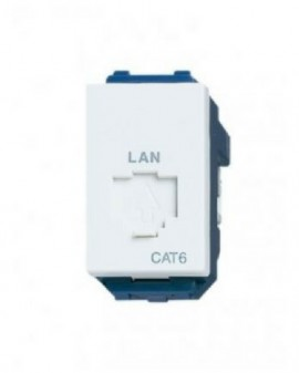 Ổ cắm data modular CAT6 panasonic WEV24886SW